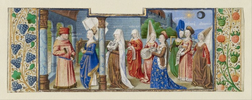 Coëtivy_Master_(Henri_de_Vulcop )_(French,_active_about_1450_-_1485)_-_Philosophy_Presenting_the_Seven_Liberal_Arts_to_Boethius_-_Google_Art_Project